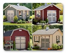 Choose your storage barn style.